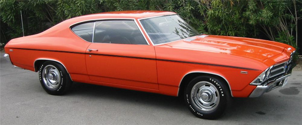 1969 CHEVROLET CHEVELLE COPO COUPE - Side Profile - 24285