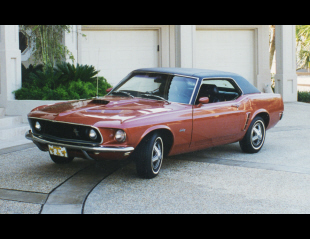 1969 FORD MUSTANG HARDTOP COUPE -  - 24298