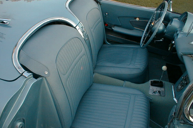 1958 CHEVROLET CORVETTE FI CONVERTIBLE - Interior - 24303