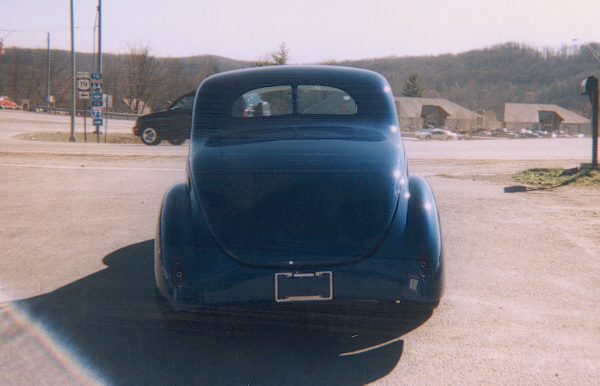 1940 FORD 2 DOOR COUPE - Rear 3/4 - 24304