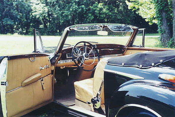 1957 MERCEDES-BENZ 300SC ROADSTER - Interior - 24305