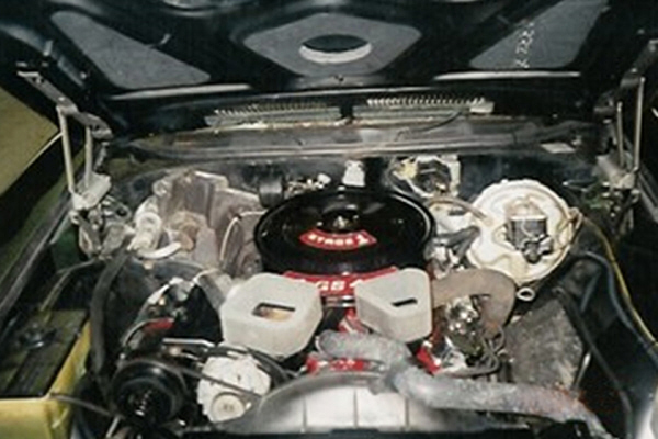 1972 BUICK GRAN SPORT STAGE 1 CONVERTIBLE - Engine - 24309