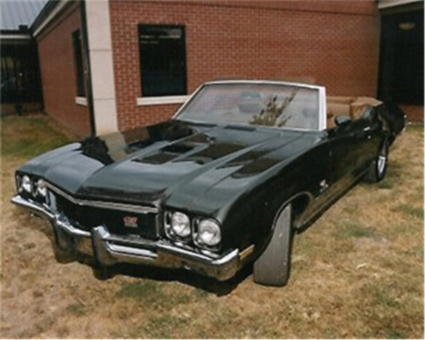1972 BUICK GRAN SPORT STAGE 1 CONVERTIBLE - Front 3/4 - 24309