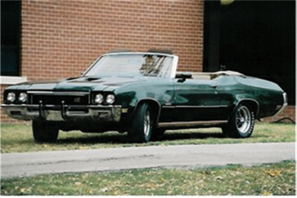 1972 BUICK GRAN SPORT STAGE 1 CONVERTIBLE - Side Profile - 24309
