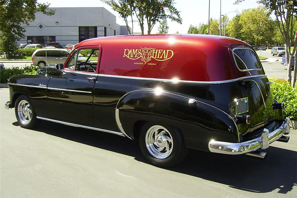 1949 CHEVROLET 2 DOOR SEDAN CUSTOM HOT ROD - Rear 3/4 - 24312