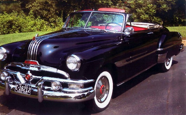 1952 PONTIAC CHIEFTAIN CONVERTIBLE