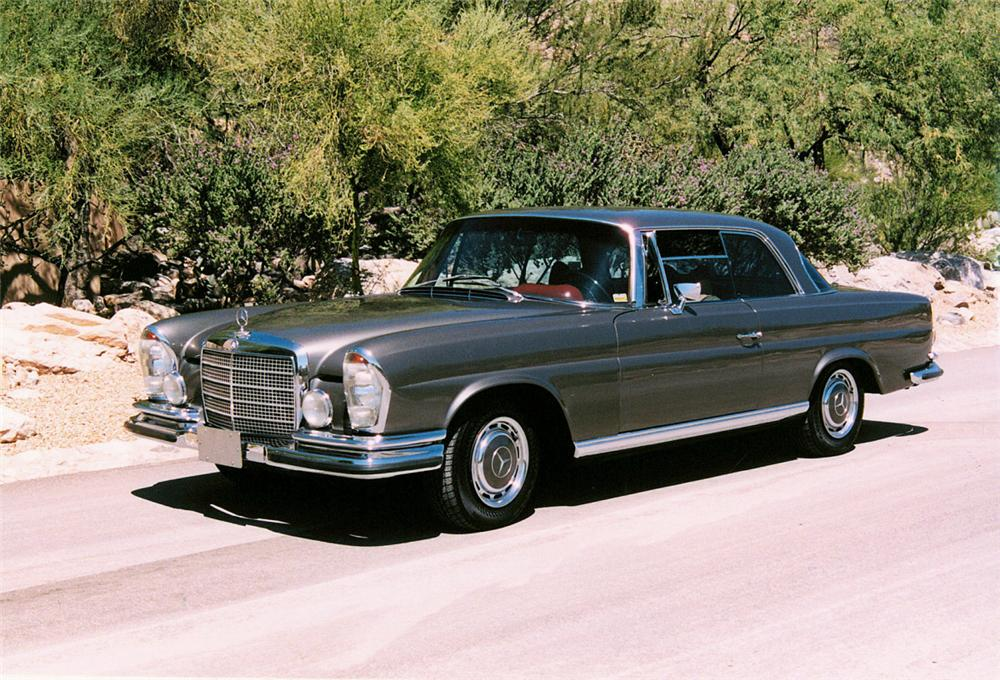 1970 mercedes benz 280se 3 5 v8 coupe 24353