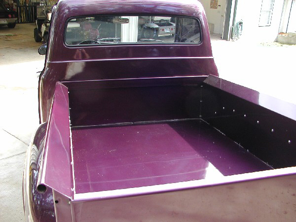 1955 FORD F-100 CUSTOM PICKUP - Rear 3/4 - 24356