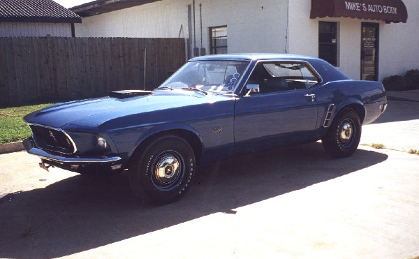 1969 FORD MUSTANG 428 SCJ 'R' DRAG PACK COUPE - 243741969 Mustang Coupe Value