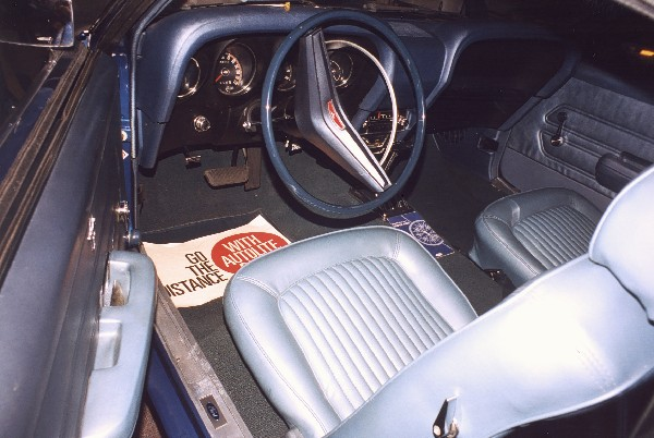 "1969 FORD MUSTANG 428 SCJ ""R"" DRAG PACK COUPE - Interior - 24374"