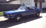 "1969 FORD MUSTANG 428 SCJ ""R"" DRAG PACK COUPE -  - 24374"