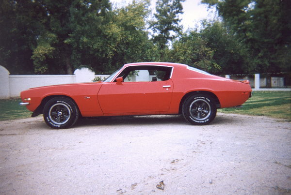 1970 CHEVROLET CAMARO Z/28 COUPE - Front 3/4 - 24375