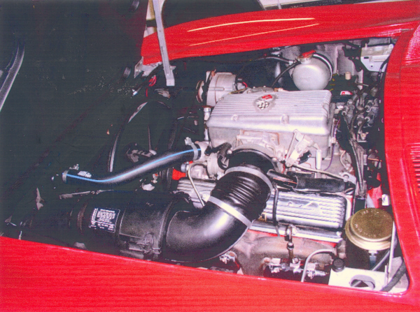 1965 CHEVROLET CORVETTE FI COUPE - Engine - 24378