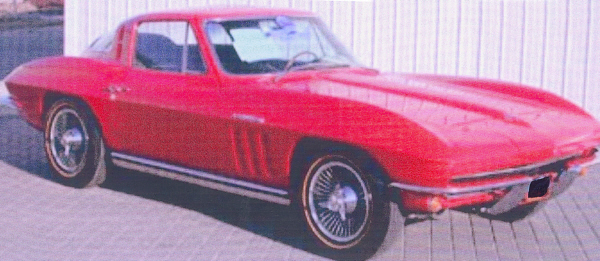 1965 CHEVROLET CORVETTE FI COUPE - Front 3/4 - 24378