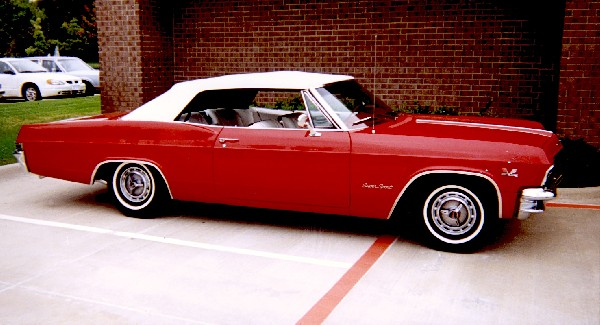 1965 CHEVROLET IMPALA SS CONVERTIBLE - Front 3/4 - 24386