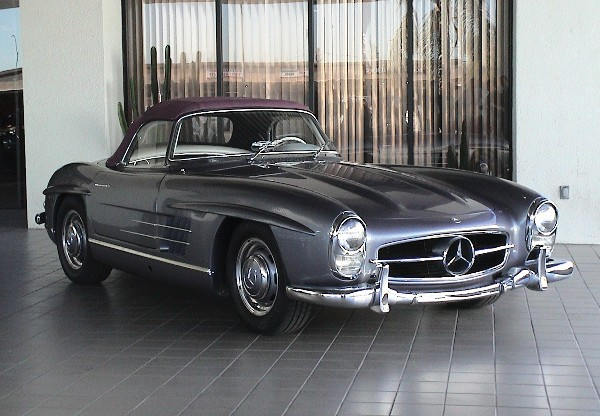 1958 MERCEDES-BENZ 300SL ROADSTER - Front 3/4 - 24389