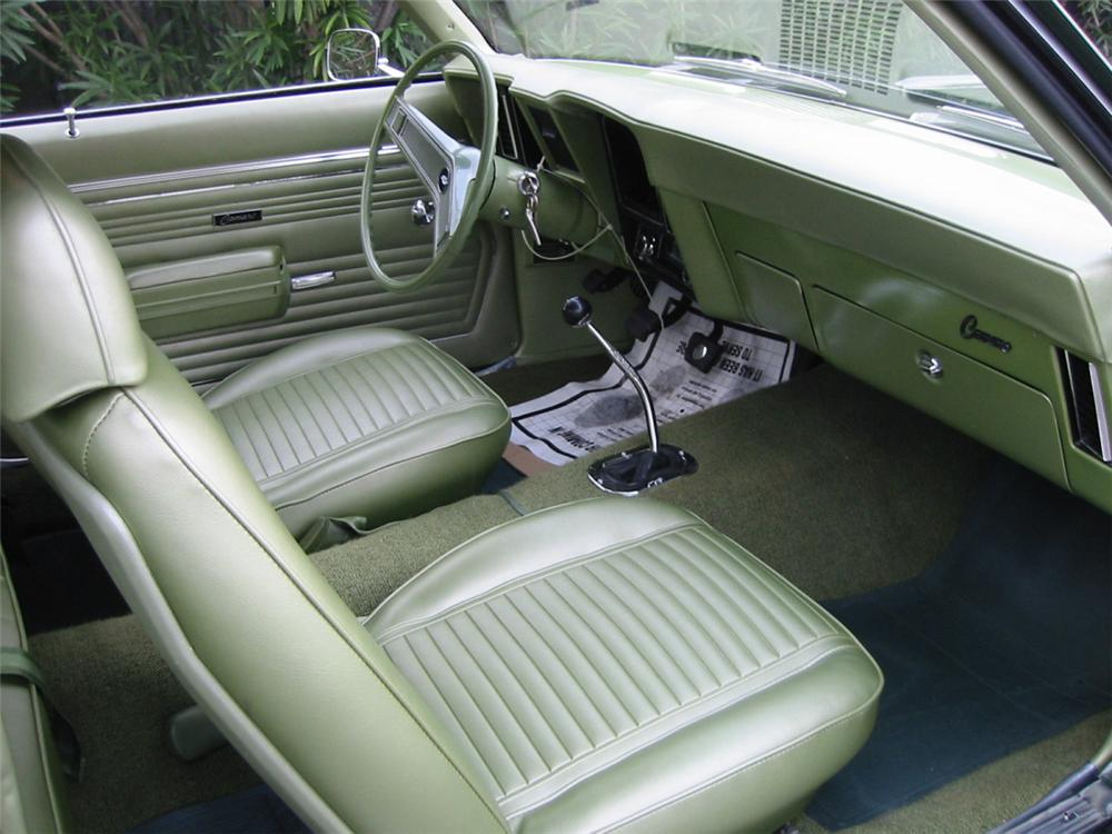 1969 CHEVROLET CAMARO COPO COUPE - Interior - 24440