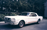 1966 FORD MUSTANG GT CONVERTIBLE -  - 24453