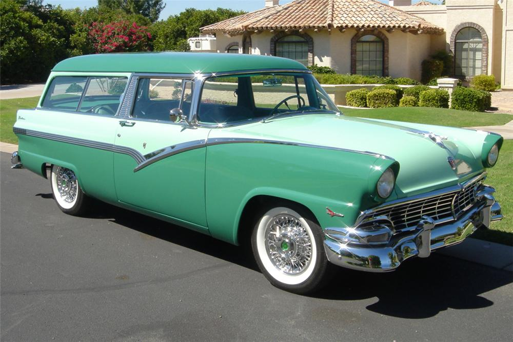 1956 ford 2 door station wagon 24507 for 1956 ford 2 door wagon