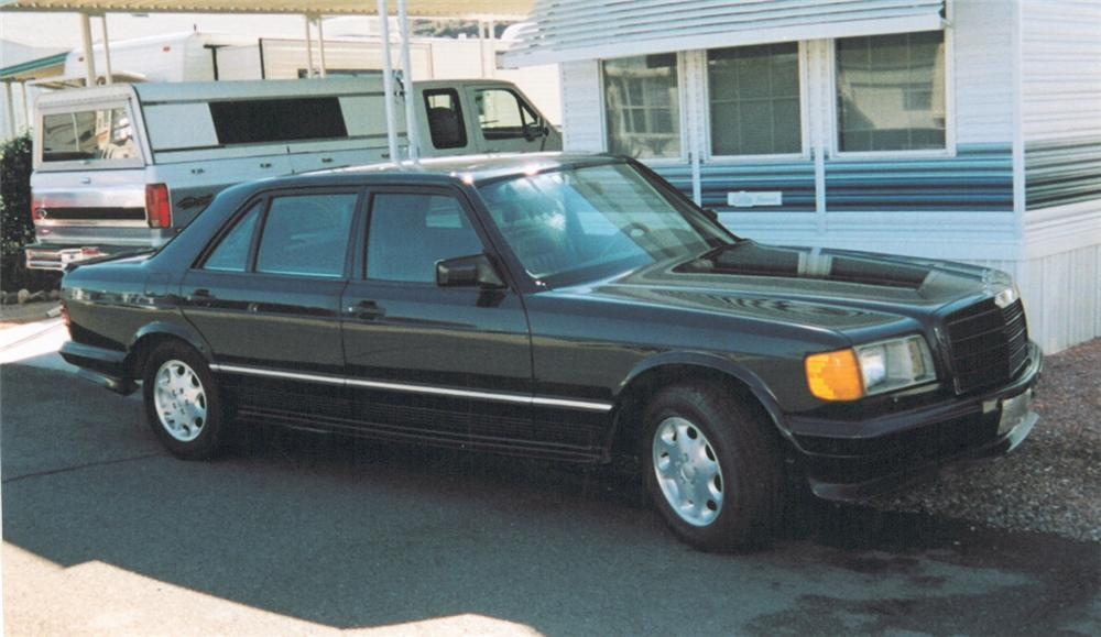 1985 MERCEDES-BENZ 500SEL 4 DOOR SEDAN - Front 3/4 - 24509