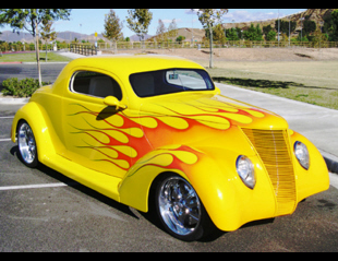 1937 FORD COUPE -  - 24510