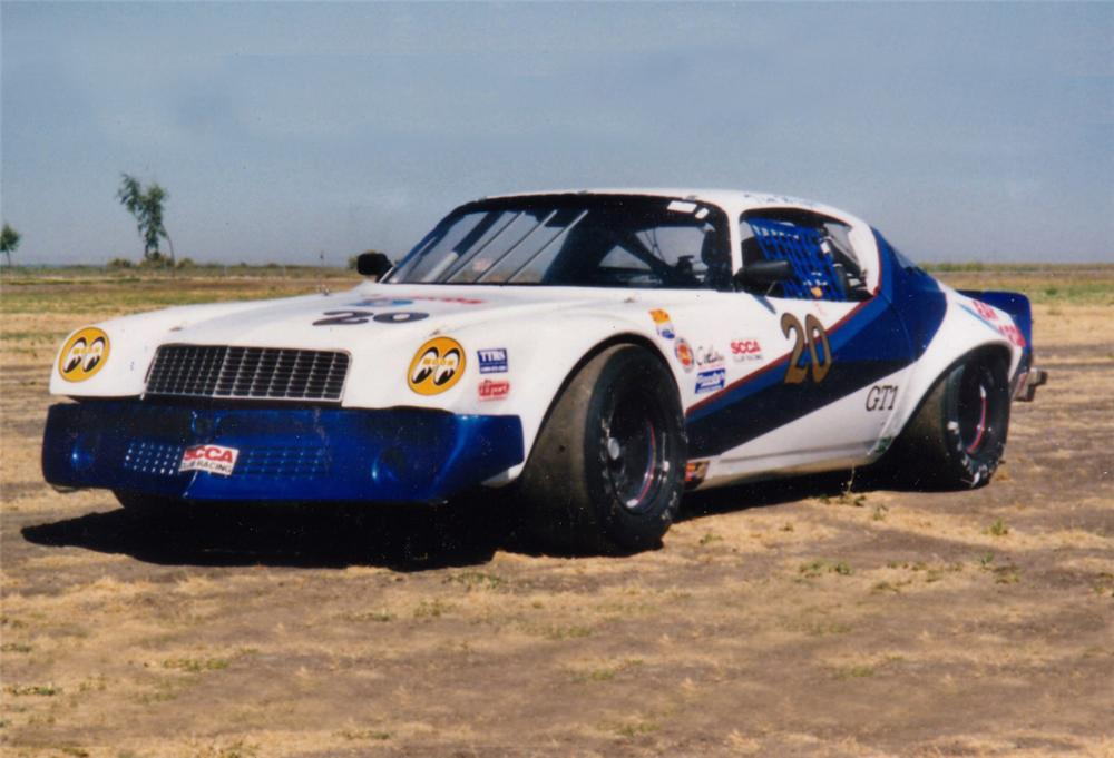 1975 CHEVROLET CAMARO RACE CAR - Front 3/4 - 24553
