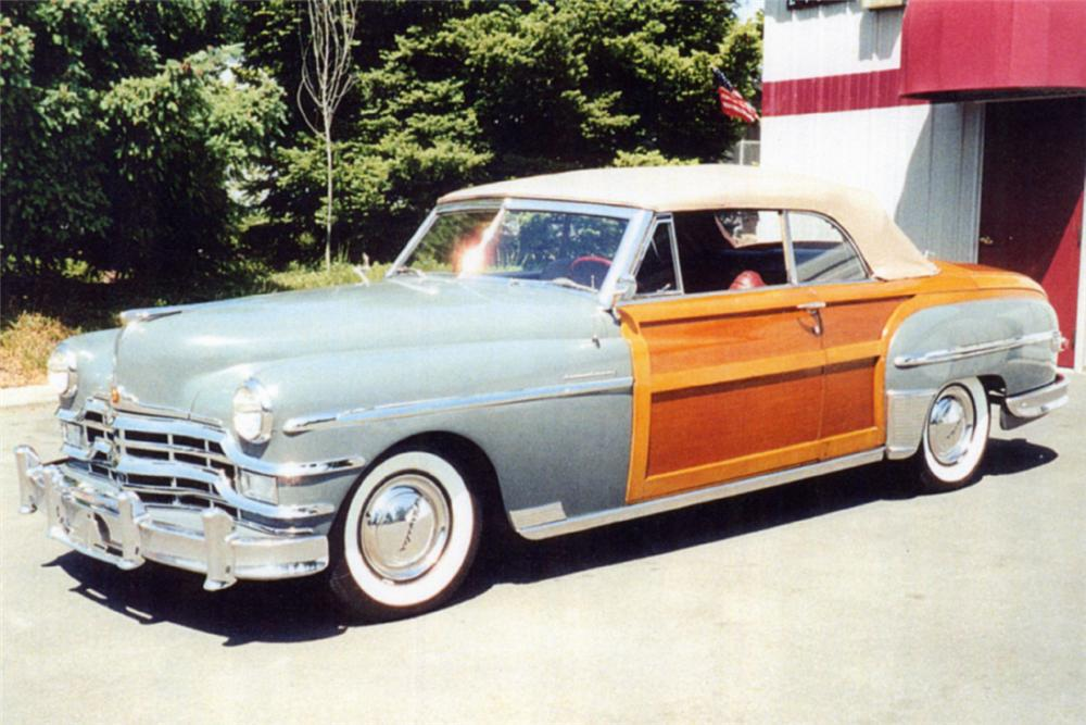 1949 CHRYSLER CONVERTIBLE - Front 3/4 - 24595