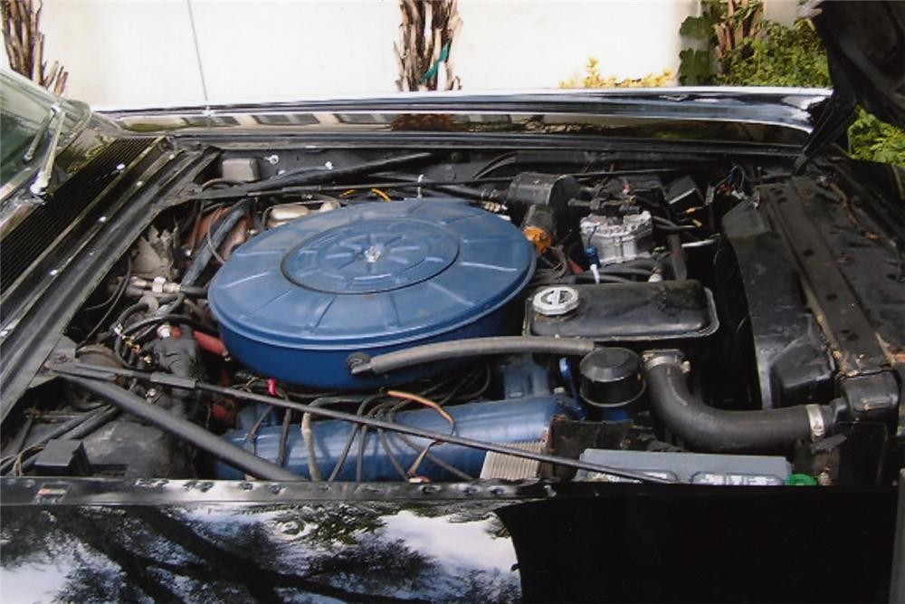 1967 LINCOLN CONTINENTAL 4 DOOR CONVERTIBLE - Engine - 24601