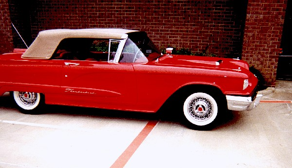 1960 FORD THUNDERBIRD CONVERTIBLE - Front 3/4 - 24623