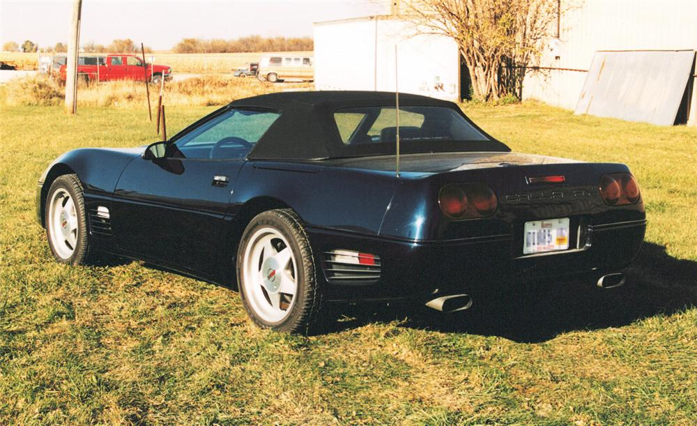 1989 CHEVROLET CORVETTE CALLAWAY CONVERTIBLE - Rear 3/4 - 24627