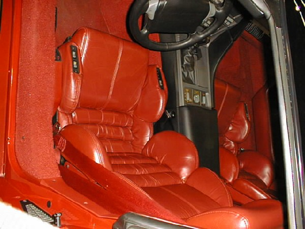 1990 CHEVROLET CORVETTE ZR1 COUPE - Interior - 24638