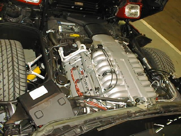 1990 CHEVROLET CORVETTE ZR1 COUPE - Engine - 24639