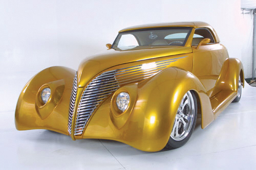 1939 FORD STREET ROD - Front 3/4 - 39644