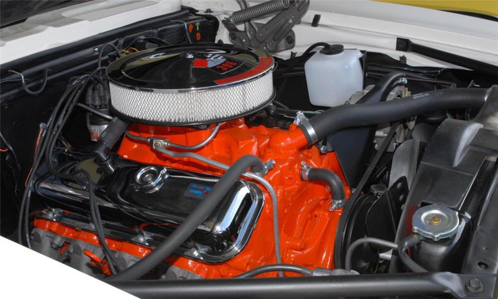 1968 CHEVROLET CAMARO RS/SS CONVERTIBLE - Engine - 39646