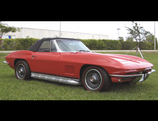 1967 CHEVROLET CORVETTE 327/300 CONVERTIBLE -  - 39647