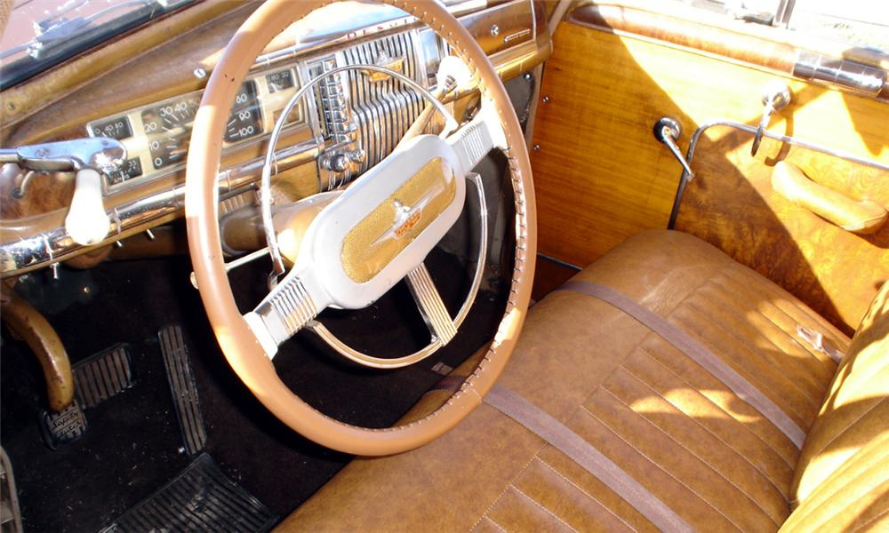 1948 DE SOTO STATION WAGON - Interior - 39648