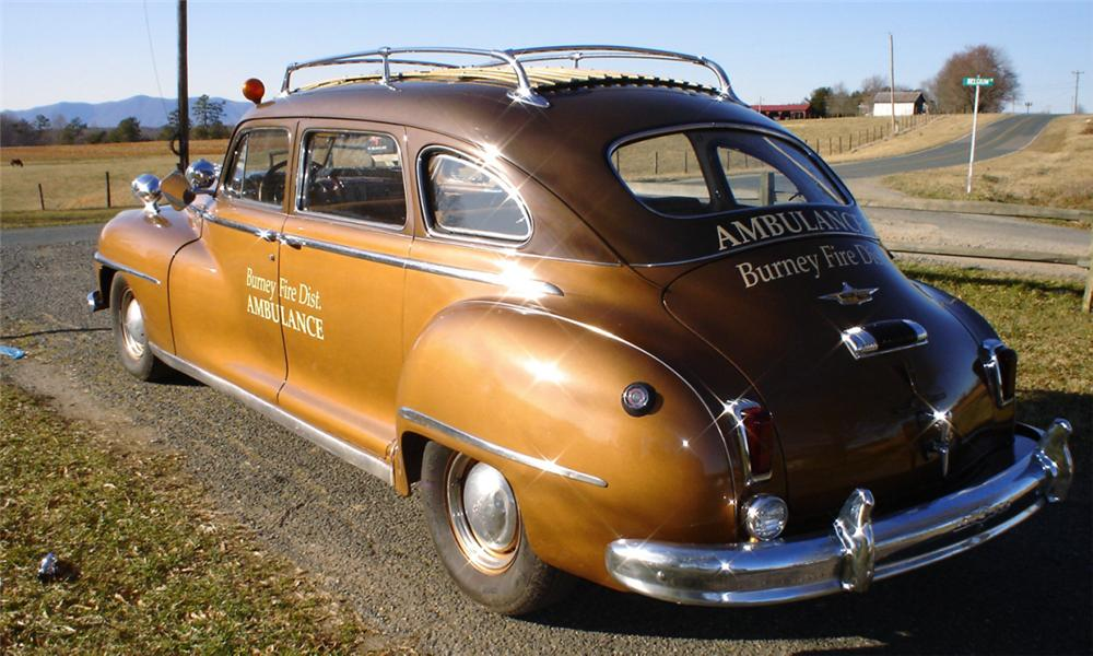 1948 DE SOTO STATION WAGON - Rear 3/4 - 39648