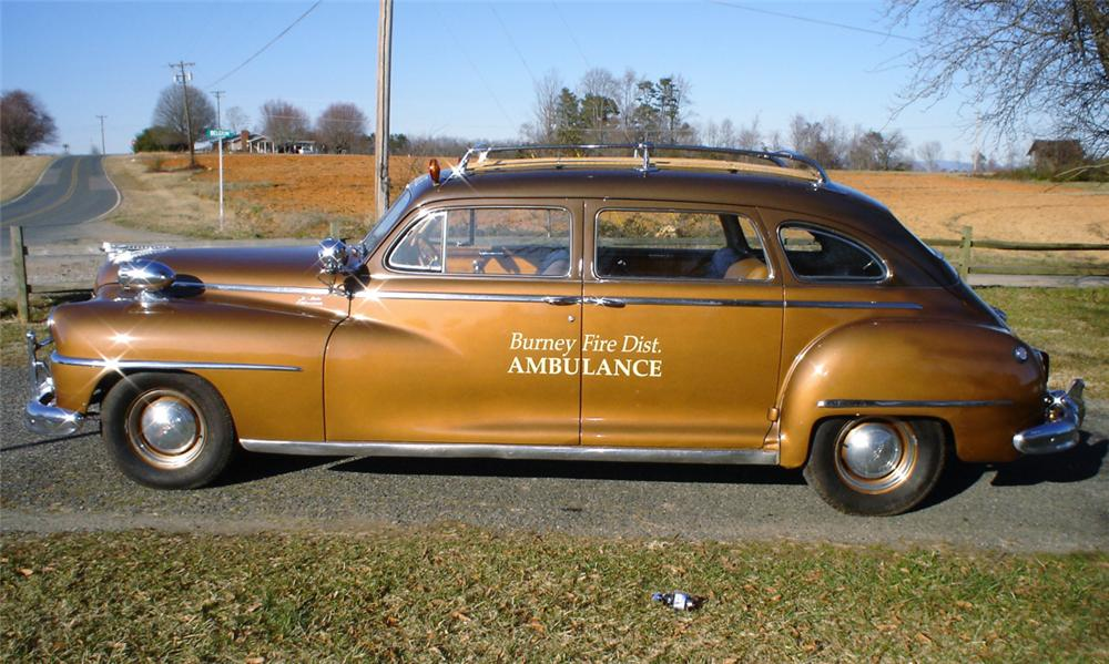 1948 DE SOTO STATION WAGON - Side Profile - 39648