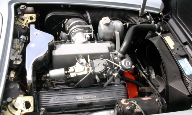 1962 CHEVROLET CORVETTE FI CONVERTIBLE - Engine - 39649