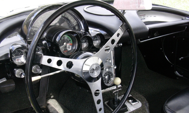 1962 CHEVROLET CORVETTE FI CONVERTIBLE - Interior - 39649