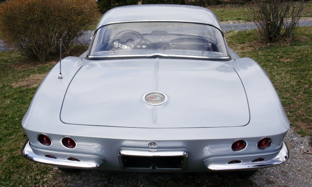 1962 CHEVROLET CORVETTE FI CONVERTIBLE - Rear 3/4 - 39649