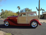 1934 CHEVROLET PHANTOM WOODY STREET ROD -  - 39651