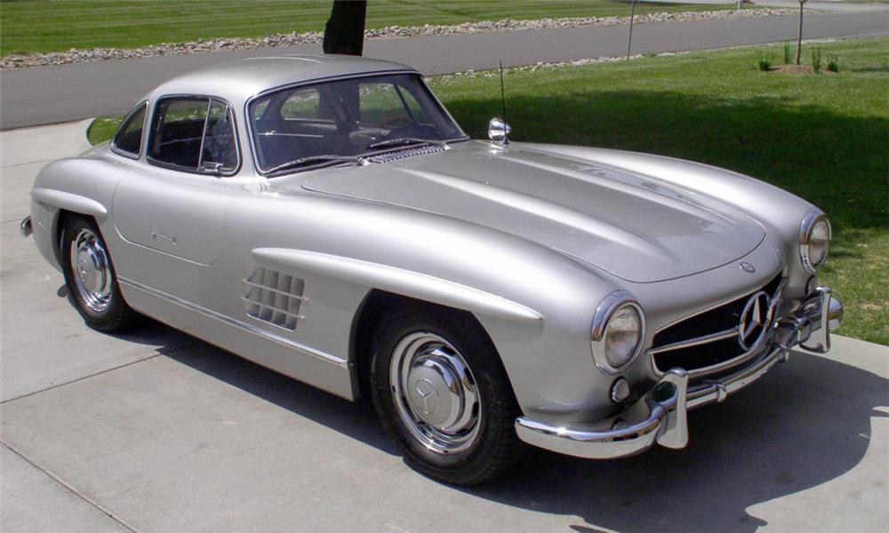 1999 MERCEDES-BENZ 300SL GULLWING RE-CREATION - Side Profile - 39652