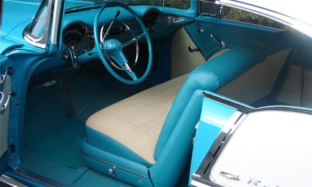 1955 CHEVROLET BEL AIR 2 DOOR HARDTOP - Interior - 39653