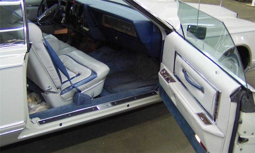 1977 LINCOLN CONTINENTAL MARK VII HARDTOP - Interior - 39656