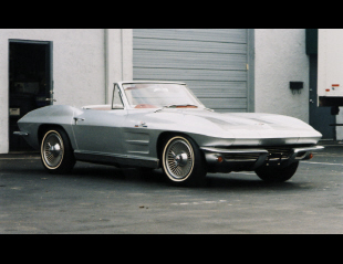 1963 CHEVROLET CORVETTE FI CONVERTIBLE -  - 39658