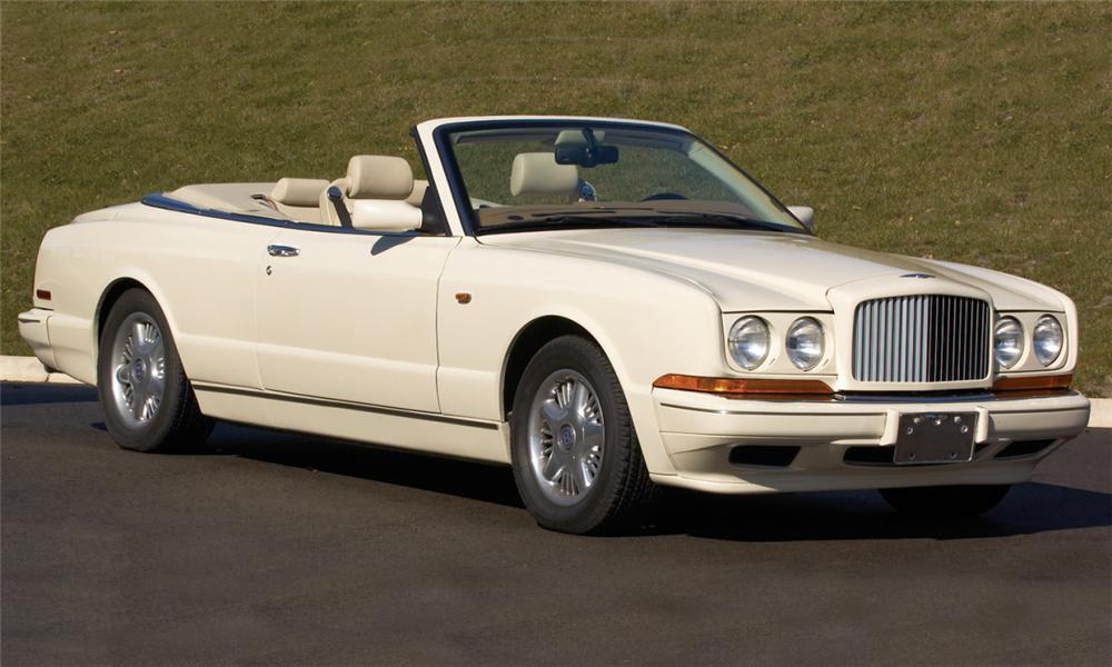 1996 BENTLEY AZURE CONVERTIBLE - Front 3/4 - 39661