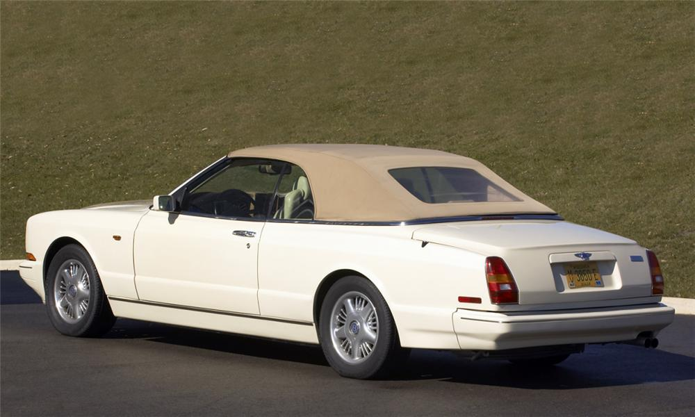 1996 BENTLEY AZURE CONVERTIBLE - Rear 3/4 - 39661
