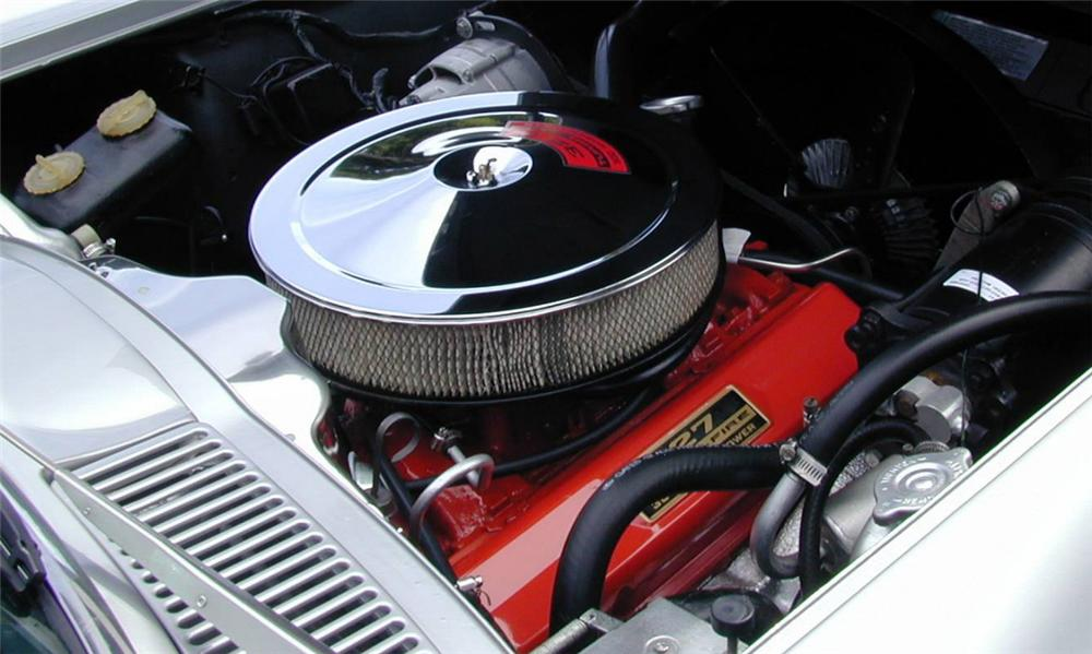 1966 CHEVROLET CORVETTE CONVERTIBLE - Engine - 39662