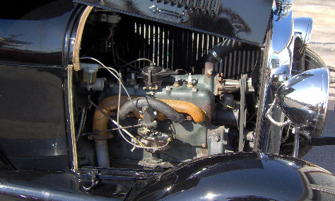 1929 FORD MODEL A PICKUP - Engine - 39665